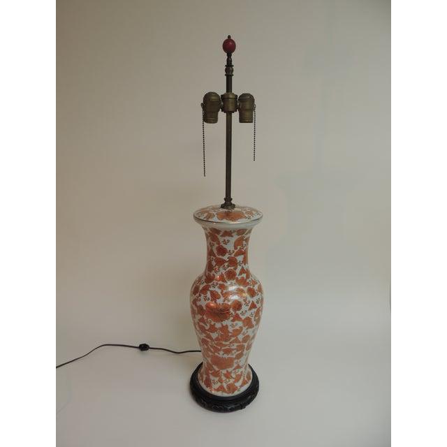 Imari Floral Porcelain Tall Table Lamp - Image 2 of 7