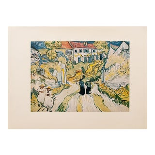 """1950s Van Gogh, First Edition Lithograph """"Stairway at Auvers"""" For Sale"""