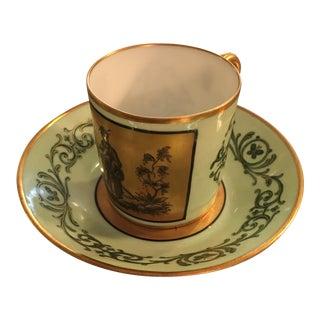 Le Tallec Porcelain Cup and Saucer - 2 Pc.