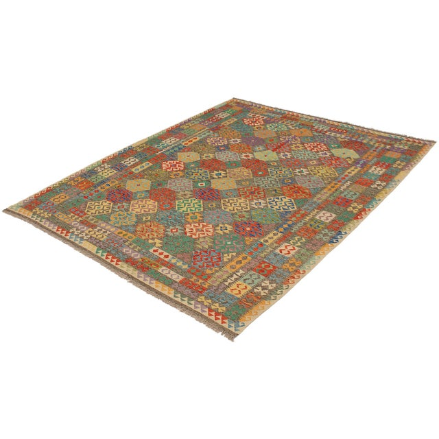 "Rustic Turkish Kilim Rug-8'6"" X 11'0"" For Sale - Image 3 of 9"