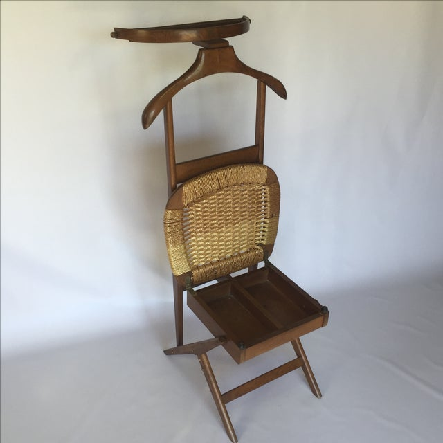 Danish Style Valet Chair For Sale - Image 5 of 5