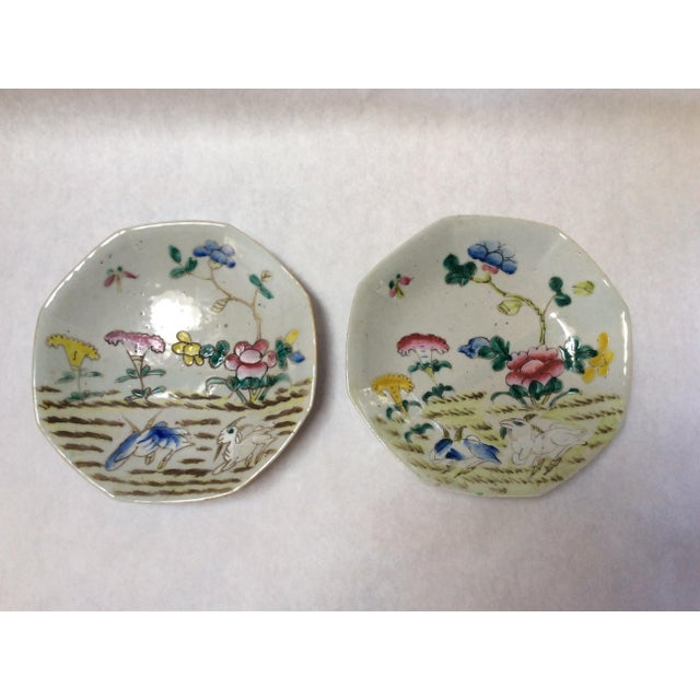 C. 1800's Chinese Decorative Plates - A Pair - Image 2 of 8