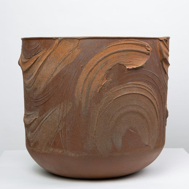 """Pro/Artisan """"Expressive"""" Planter by David Cressey for Architectural Pottery For Sale - Image 9 of 9"""