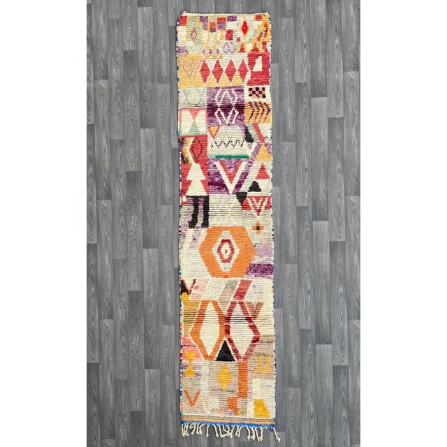 1950s Moroccan Vintage Runner-2′6″ × 11′ For Sale - Image 13 of 13