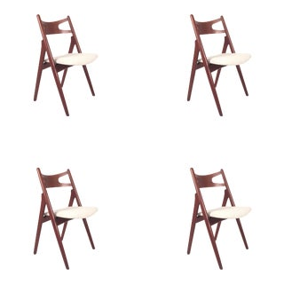 Vintage Teak Hans Wegner Ch29 Dining Chairs - Set of 4