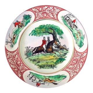 1950s Clarice Cliff for Royal Staffordshire Equestrian Horse Plate