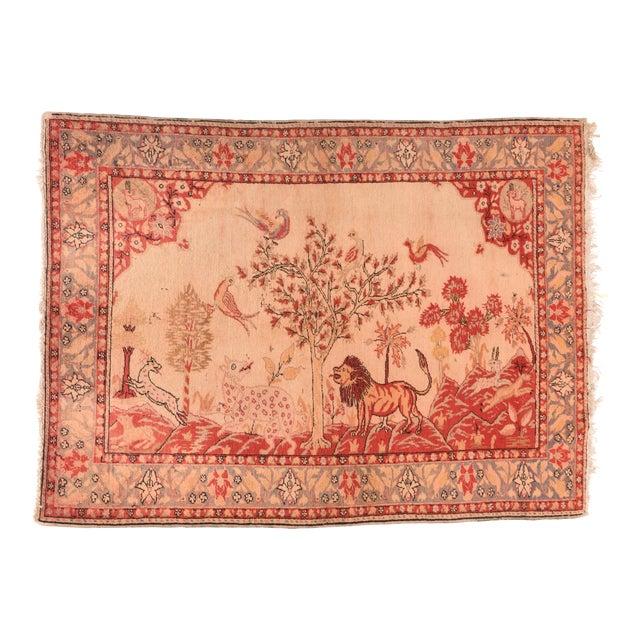 Antique Turkish Sivas Rug For Sale