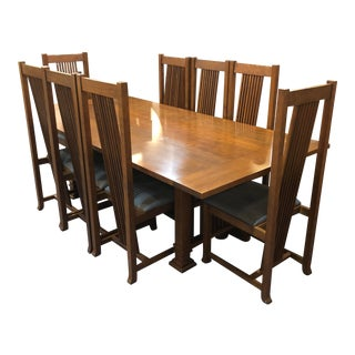 1990s Traditional Swartzendruber Prairie Dining Set For Sale