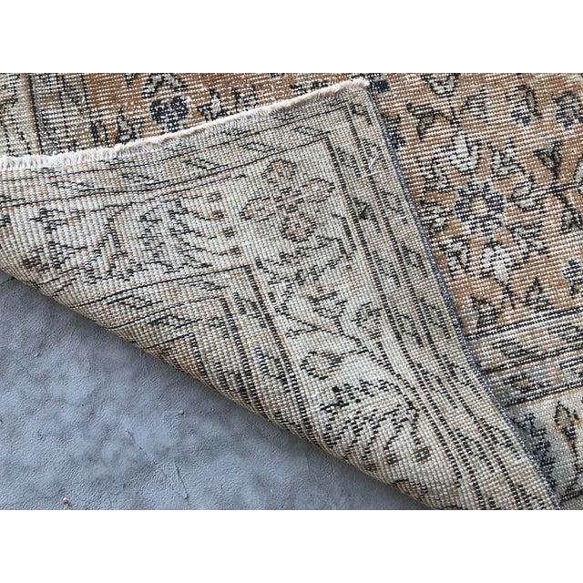 1960s Turkish Oversize Handmade Carpet For Sale - Image 4 of 10