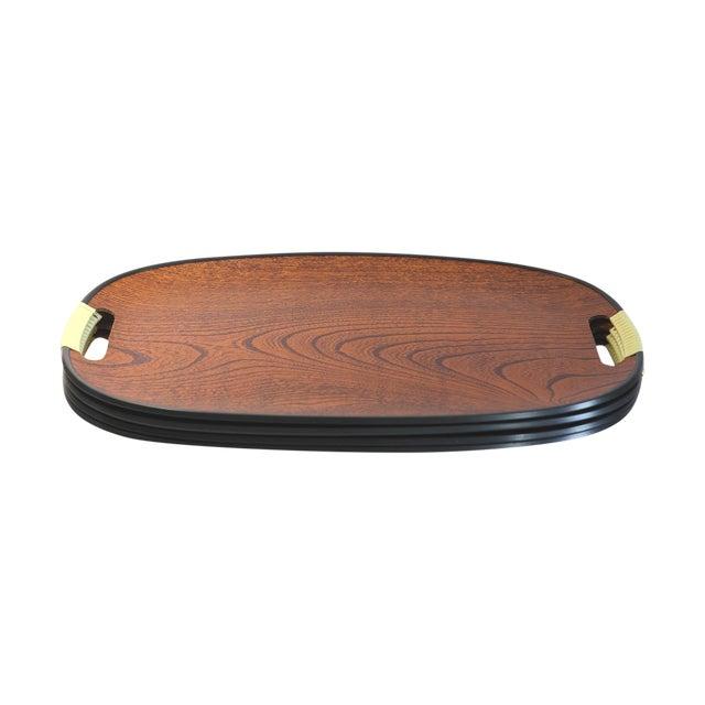 Mid Century Lap Trays - Set of 4 - Image 1 of 4