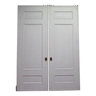 Three Panel Double Pocket Doors - A Pair