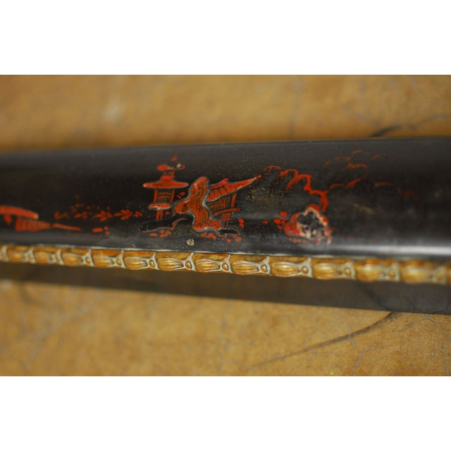 Napoleon III Chinoiserie Fireplace Fender - Image 6 of 10