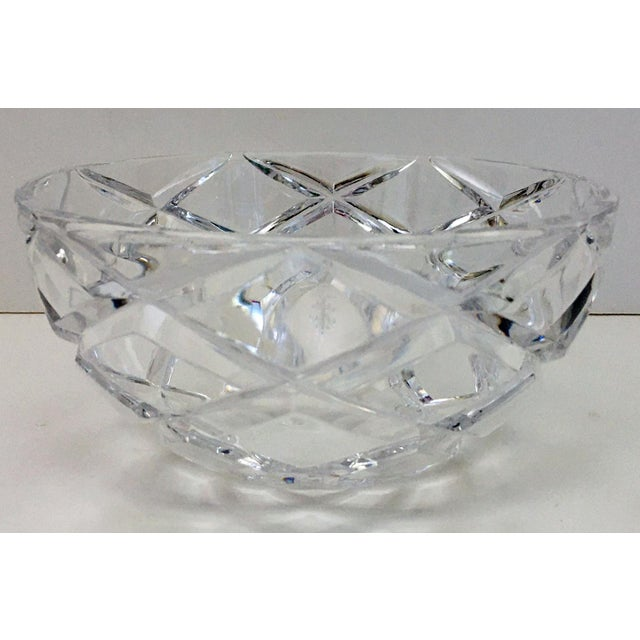 Tiffany Diamond Cut Bowl For Sale In New York - Image 6 of 6