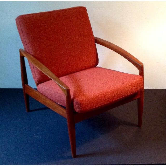 """Danish Modern Kai Kristiansen """"Paper Knife"""" Chair For Sale - Image 3 of 9"""