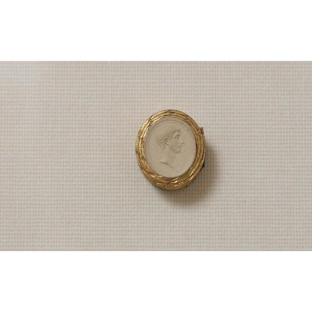 Figurative 1820 Grand Tour Intaglios, Set of 2 For Sale - Image 3 of 10