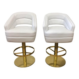 Pair of New Russel Barstools by Essential Homes For Sale