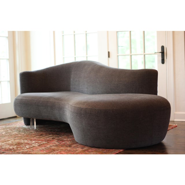 Weiman Preview Furniture Weiman Furniture Vladimir Kagan Sofas - a Pair For Sale - Image 4 of 8