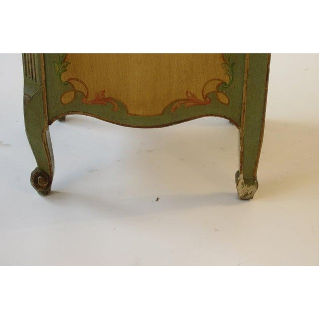 Pair of Tall 1920s Marble-Top Adams Style Side Tables For Sale - Image 9 of 13