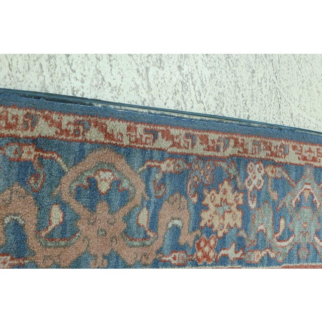 Karastan Approx 8 X 12 Ushak Colonial Williamsburg Rug For Sale - Image 4 of 13