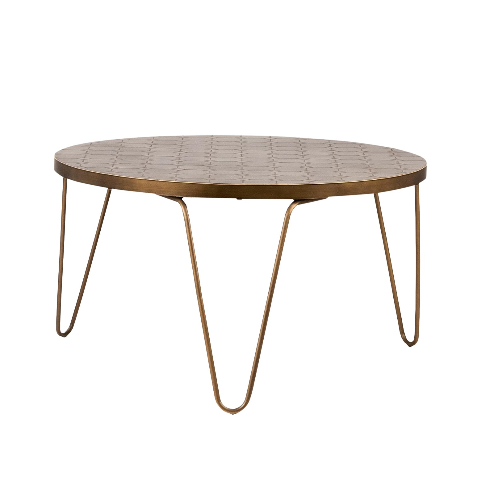 Astonishing Bronze Mosaic Coffee Table Ocoug Best Dining Table And Chair Ideas Images Ocougorg