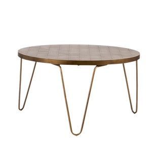 Bronze Mosaic Coffee Table For Sale