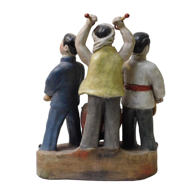 Chinese Cultural Revolution Ceramic Figurine For Sale - Image 4 of 6
