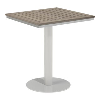 """26"""" Square Outdoor Bistro Table, Vintage For Sale"""