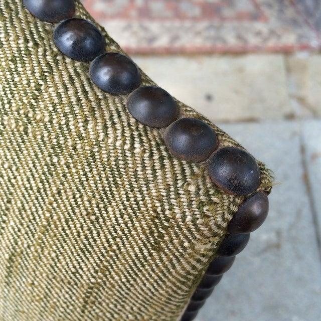Oak Framed Oz de Mouton Upholstered Side Chair - Image 6 of 6