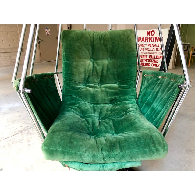Mid Century Modern Ib Arberg Parrot Chair Hanging Birdcage Chair For Sale - Image 10 of 13