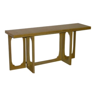 Johan Tapp Custom Flip Top Console Server Table