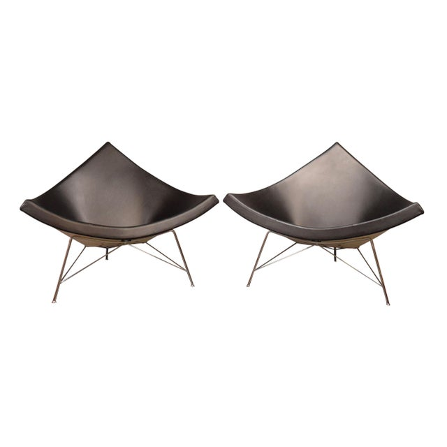 "Vintage George Nelson for Vitra ""Coconut"" Chairs - a Pair For Sale - Image 13 of 13"