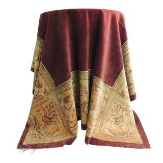 19th Century Italian Velvet Cloth or Throw For Sale