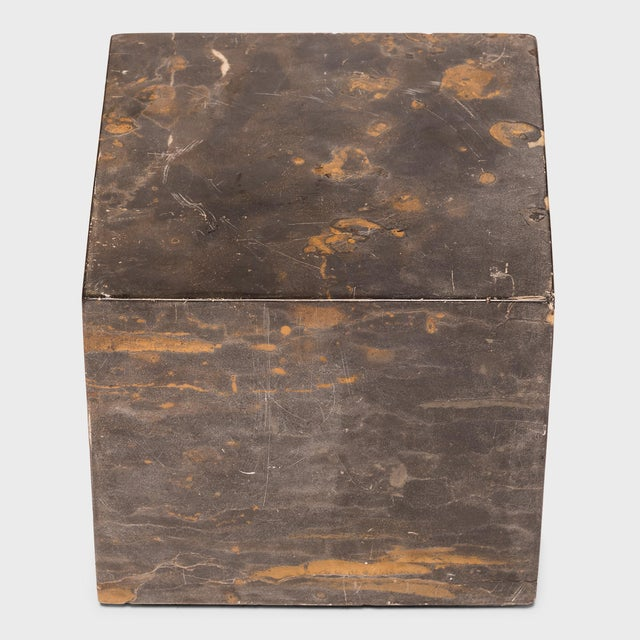 Early 21st Century Small Marble Doon Table For Sale - Image 5 of 6