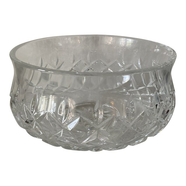Waterford Crystal Footed Bowl, Lismore Pattern For Sale
