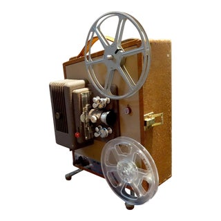 Keystone Movie Projector Circa 1952 for Home or Office Display. Pretty Deco Look. For Sale