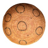 Image of Brazilian Yamomami Rainforest Indian Coil Basket For Sale