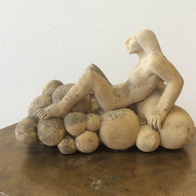 Puryear Mims Limestone Sculpture - Image 2 of 7