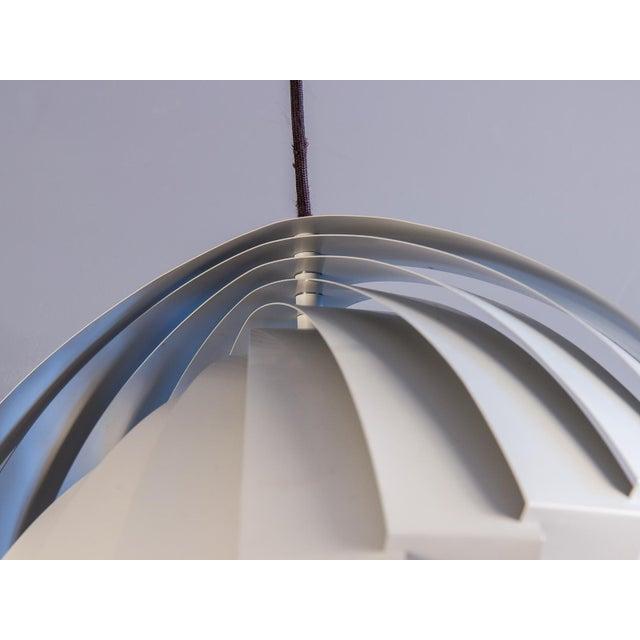 Danish Modern Danish Konkylie Sculptural Pendant Light by Louis Weisdorf For Sale - Image 3 of 7