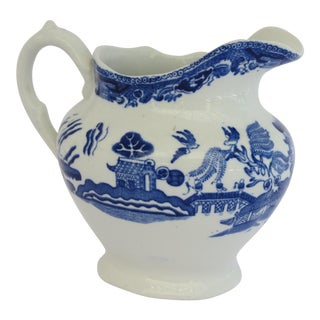 Blue Willow Creamer For Sale