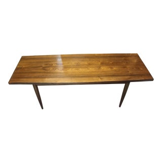 1960s Scandinavian Rosewood Coffee Table For Sale