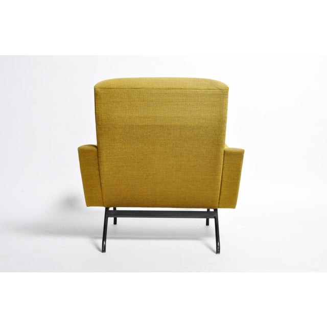 1960s Vintage Joseph-André Motte French Armchairs - a Pair For Sale - Image 12 of 13