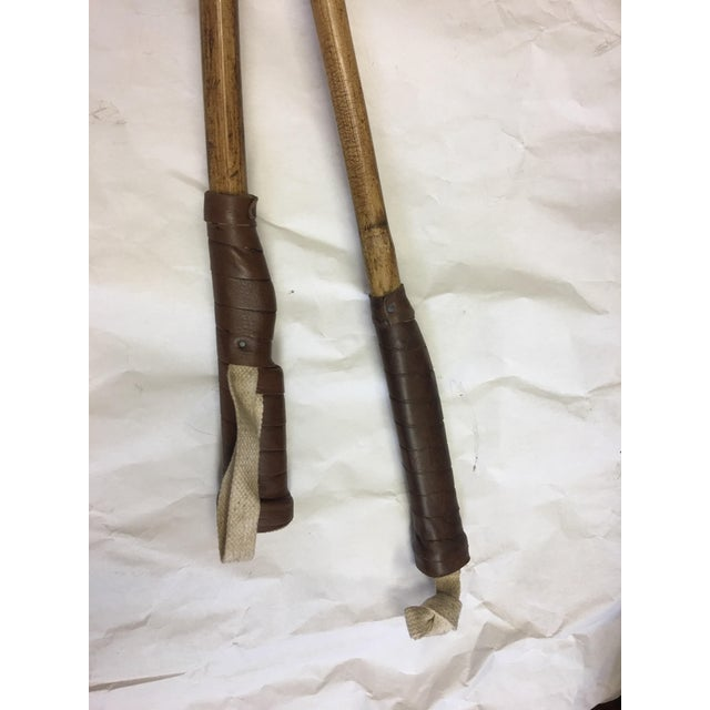 Equestrian Polo Mallets Decor - A Pair For Sale In New York - Image 6 of 6