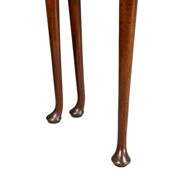 Brown George II Mahogany Triple Top Games Table For Sale - Image 8 of 12
