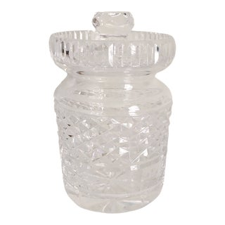 Waterford Crystal Jam Jar For Sale