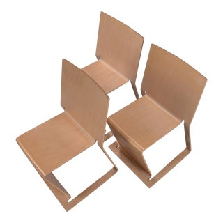 Stacked Swedish lForm Chairs- Set of 3