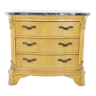 French Rivers Edge Marble Top Dresser For Sale