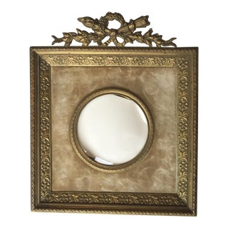 Louis XVI Style Gilt Bronze Picture Frame For Sale