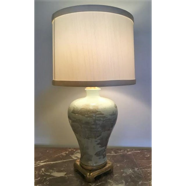 Exquisite grey and white ornate table lamp decaso grey and white ornate table lamp image 8 of 9 aloadofball Choice Image