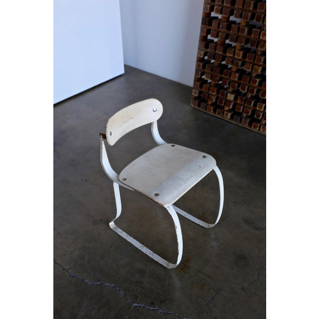 """1940s Herman H. Sperlich for Ironrite """"Health"""" Chair For Sale - Image 4 of 13"""