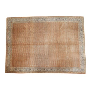 "Vintage Tabriz Carpet - 10'7"" X 14'6"""